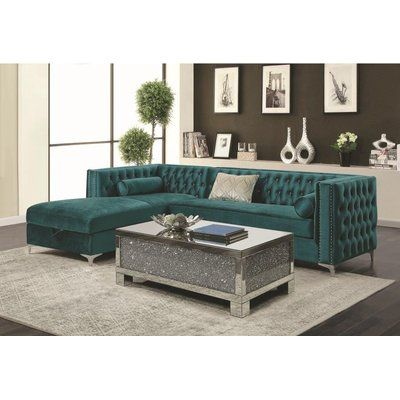 Everly Quinn Holsworthy Sectional in 2018 Products Pinterest