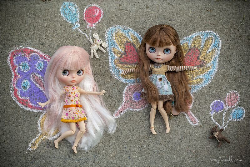 Blythe Wings | da Dolly Adventures in the Galland Household