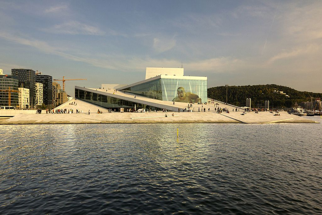 Oslo Opera House | designed by Snøhetta. Bjørvika, Oslo, Nor… | Flickr - Photo Sharing!