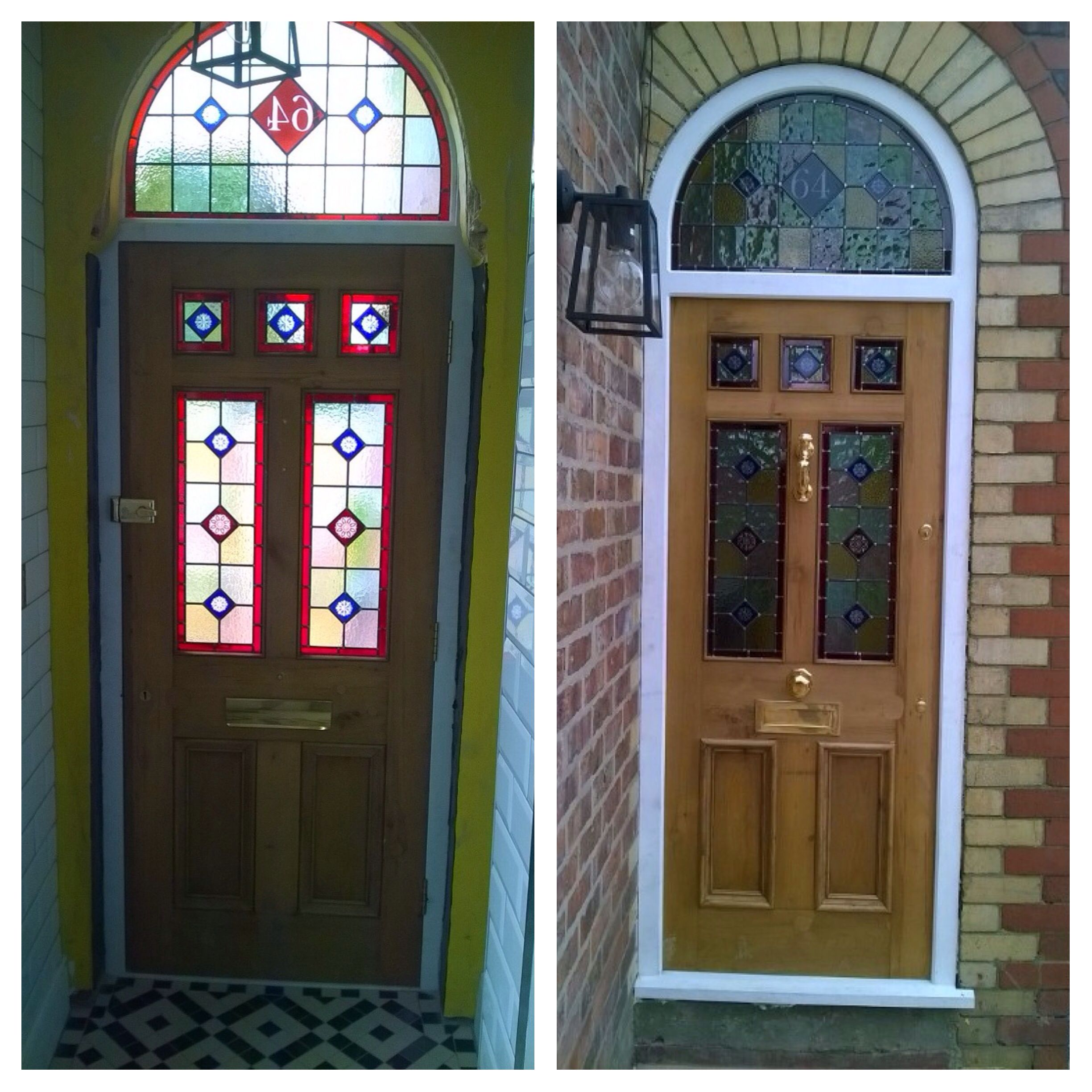 Inside and outside of another stunning victorian front for Inside outside doors