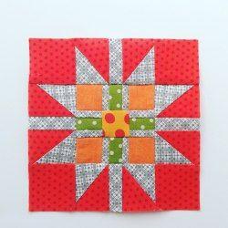 Bonus Block – Gift Wrapped Star – The Splendid Sampler™