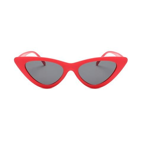 87a699afd0d36 2018 cute sexy retro cat eye sunglasses women small black white triangle  vintage cheap sun glasses red female uv400