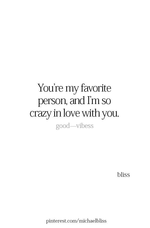 I'm so crazy in love with you...❤