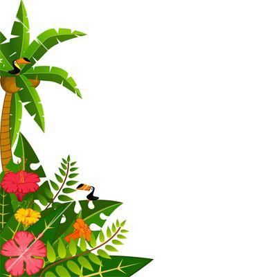 Tropical Borders And Frames Jpg 380 215 400 Luau