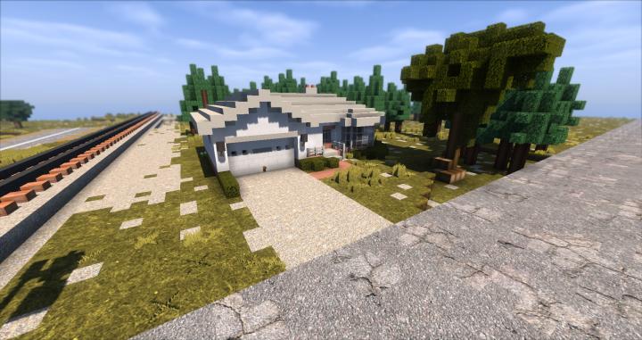 Small Town House Minecraft Project Minecraft City Minecraft Minecraft Palace