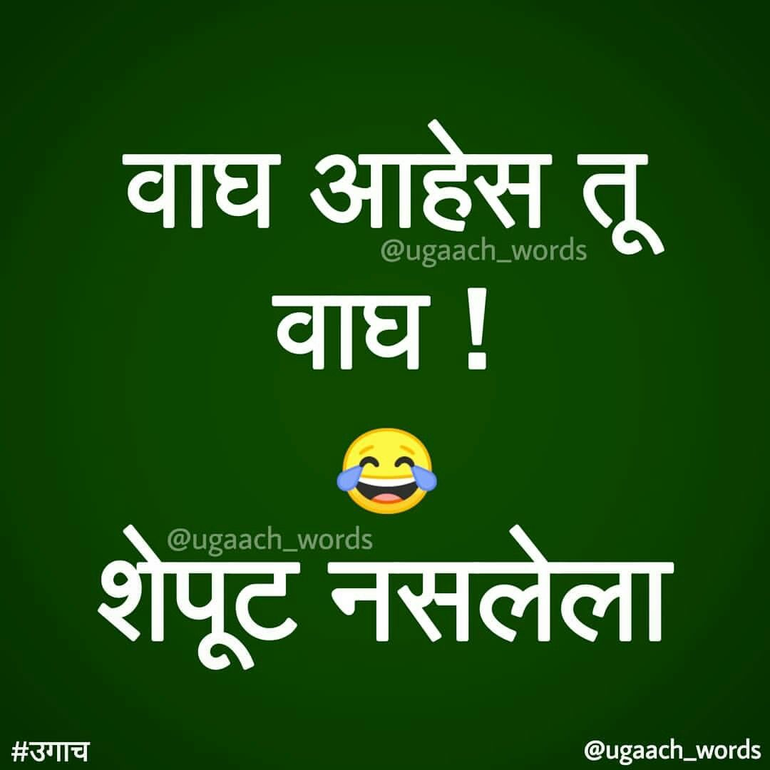 Pin By Sanket Pawar On Marathi Quotes Taunting Quotes Jokes Quotes Some Funny Jokes