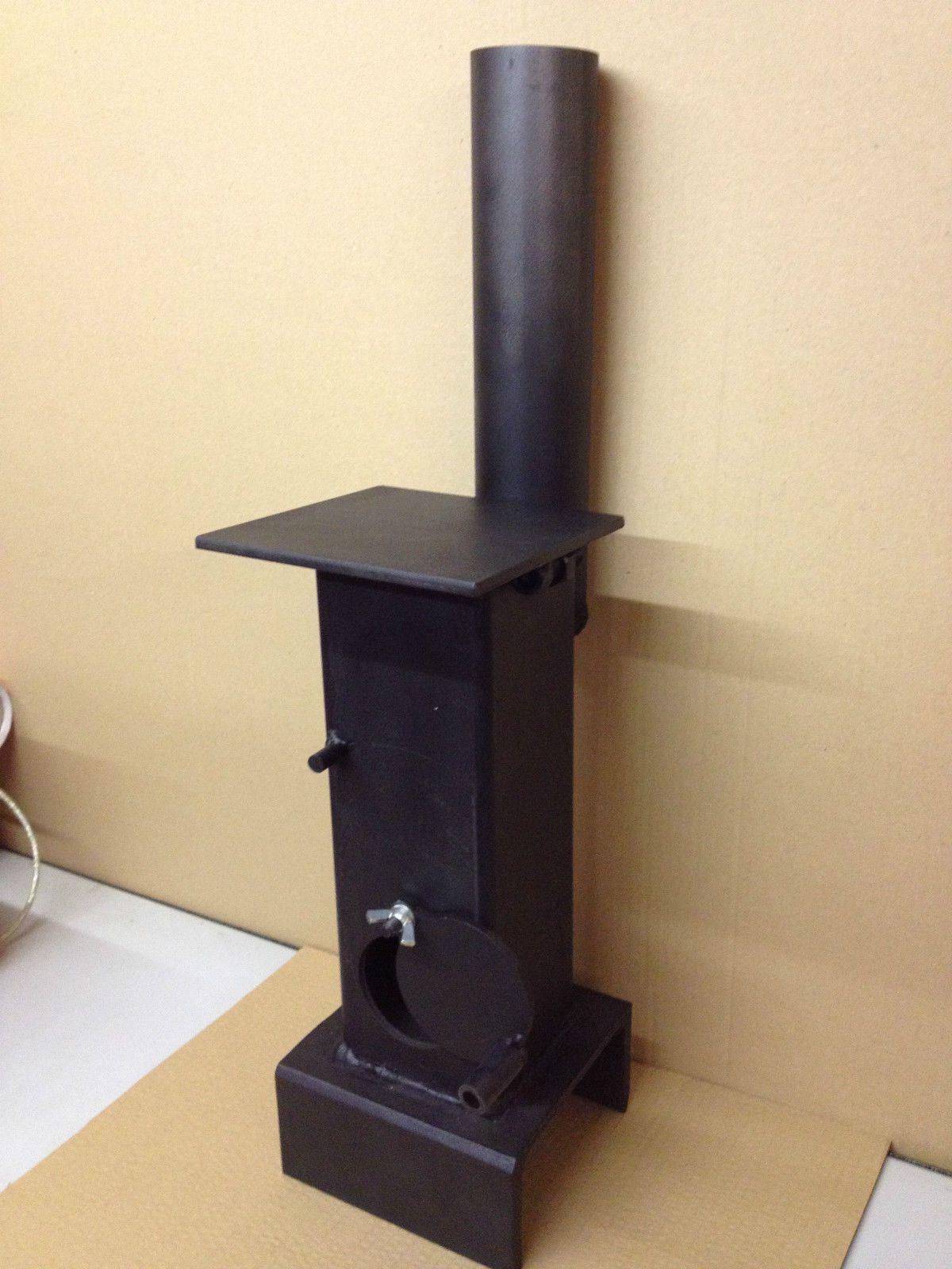 Miniature Mini Coal Wood Burner Stove Heater Shed Summerhouse Workshop  Garage In Home, Furniture U0026