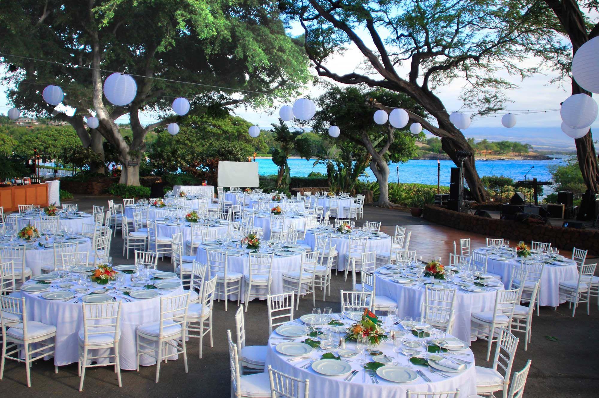 Mauna Kea Beach Hotel Outdoor Wedding Area Wedding Venues