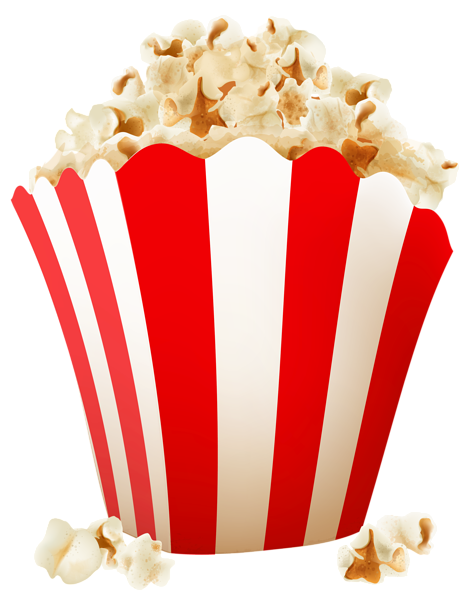 Free Popcorn Vector Clip Art Image | Food & Drink | Pinterest ...