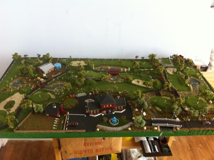 N Scale From Layout To Golf Course Success Story Woodland Scenics Model Layouts Scenery Buildings And Figures Scenery Golf Courses Woodland