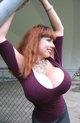 Busty natural wife