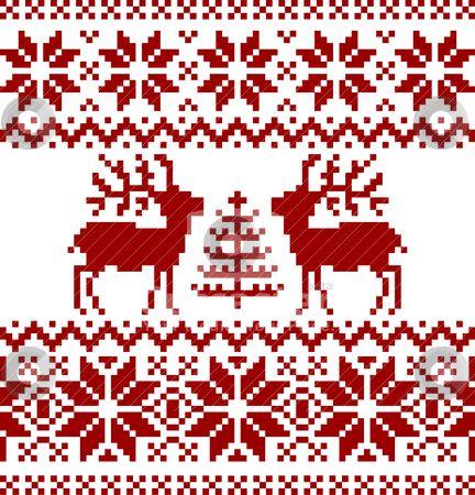 Christmas Norwegian Pattern Christmas Cross Stitch Knitting Charts Cross Stitch