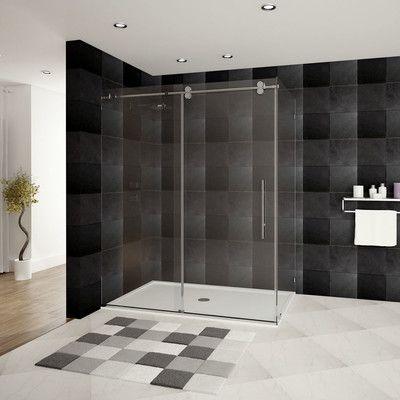 Ultra D 56 X 79 Shower Door Shower Doors Glass Shower Enclosures Sliding Shower Door