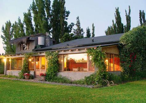 Casas de campo con galerias exteriores pinterest - Exteriores de casas de campo ...