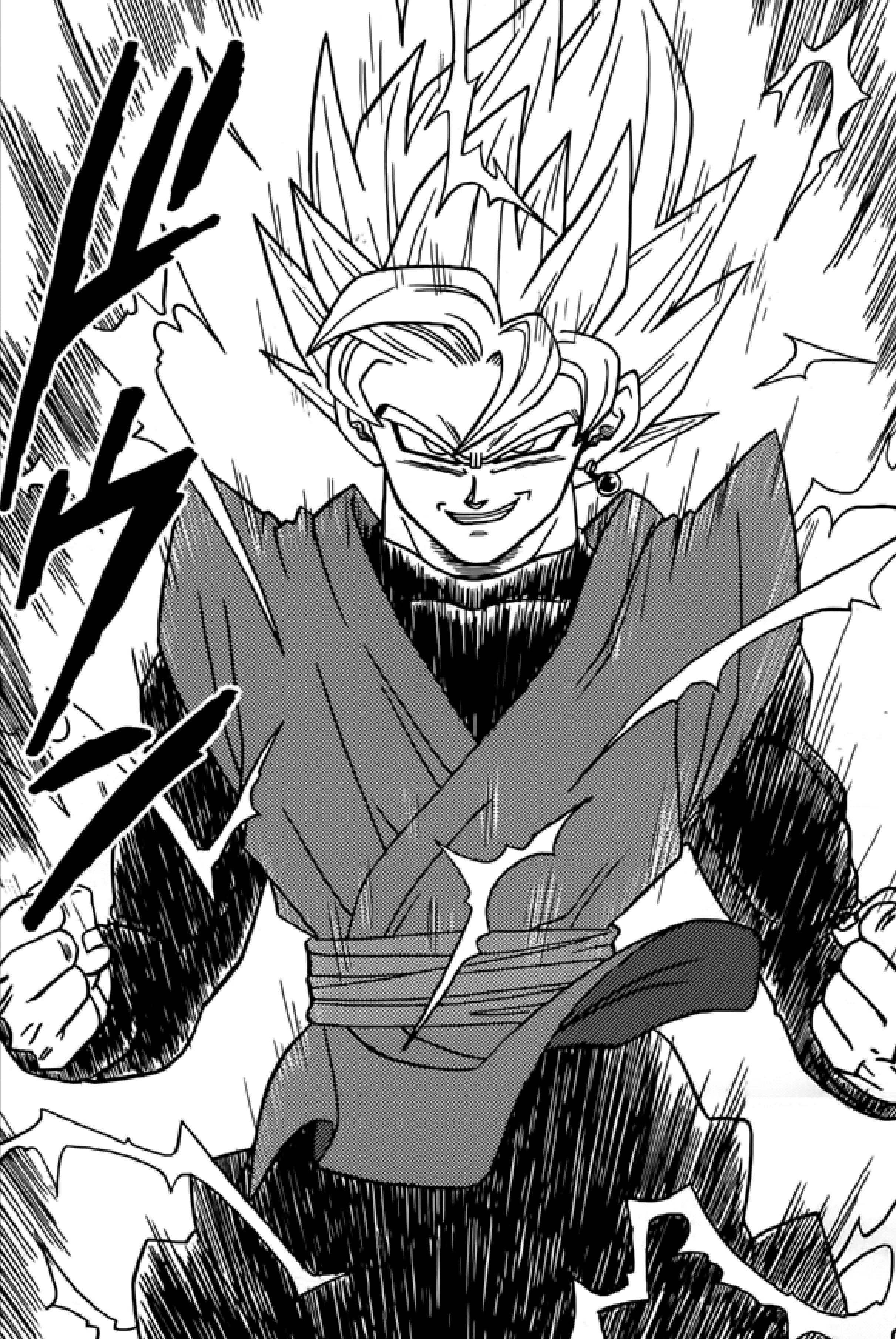 And White Ssj2 Images Black Goku 6