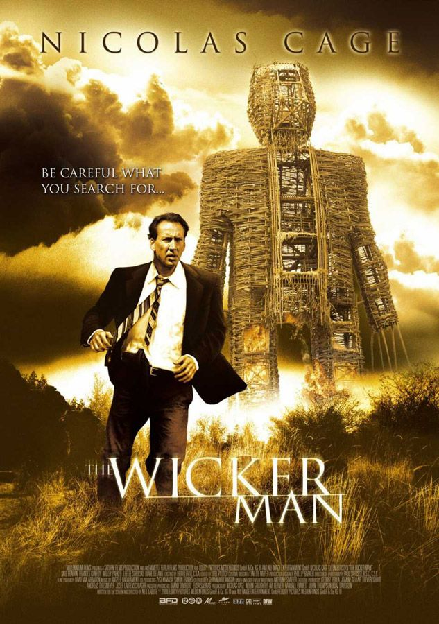 This Was The Most Confusing Horrible Feeling Brutal Movie Ever It Involved Nikolas Cage Being Brought To An Island Th Wicker Man Man Movies Thriller Movies