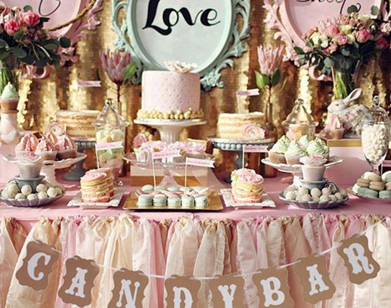 Wedding Decoration Sign Cardboard Candy Bar Kraft Paper Bunting Banner Garland