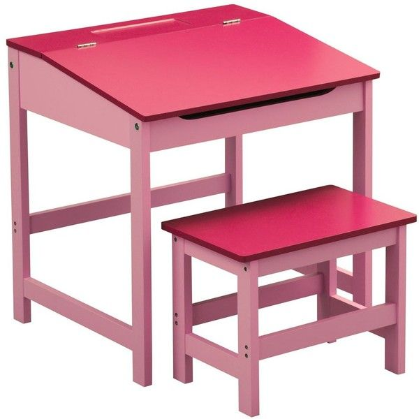 Childrens Pink Desk And Chair Set 135
