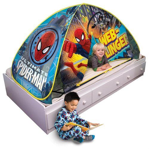 Spider Man 2 In 1 Bed Topper Amp Play Tent Bed Tent