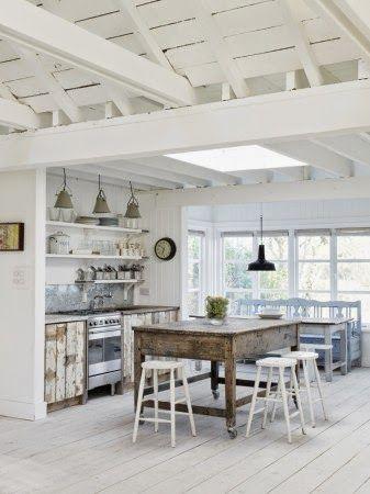 Quien Tuviera Espacio Para Esta Cocina Cottage Kitchens