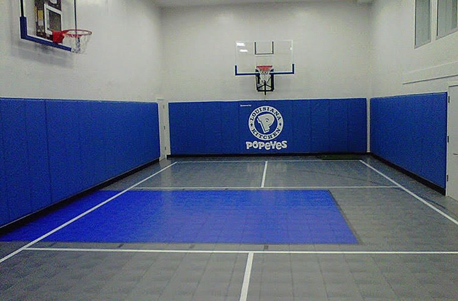 Indoor Sports Tiles Low Cost High Quality Gym Tiles Basketball Court Indoor Basketball Court In 2020 Indoor Basketball Court Indoor Basketball Home Basketball Court
