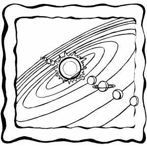 The Planets in Solar System Coloring Pages page 2 Pics about