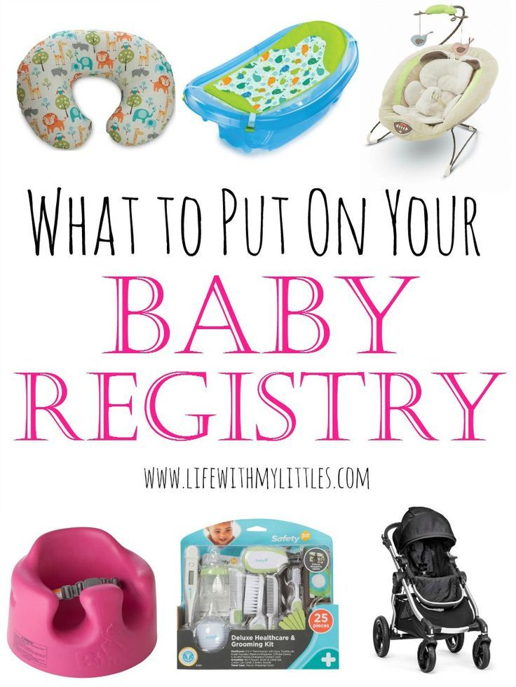 What To Put On Your Baby Registry Baby Registry Babies And Pregnancy