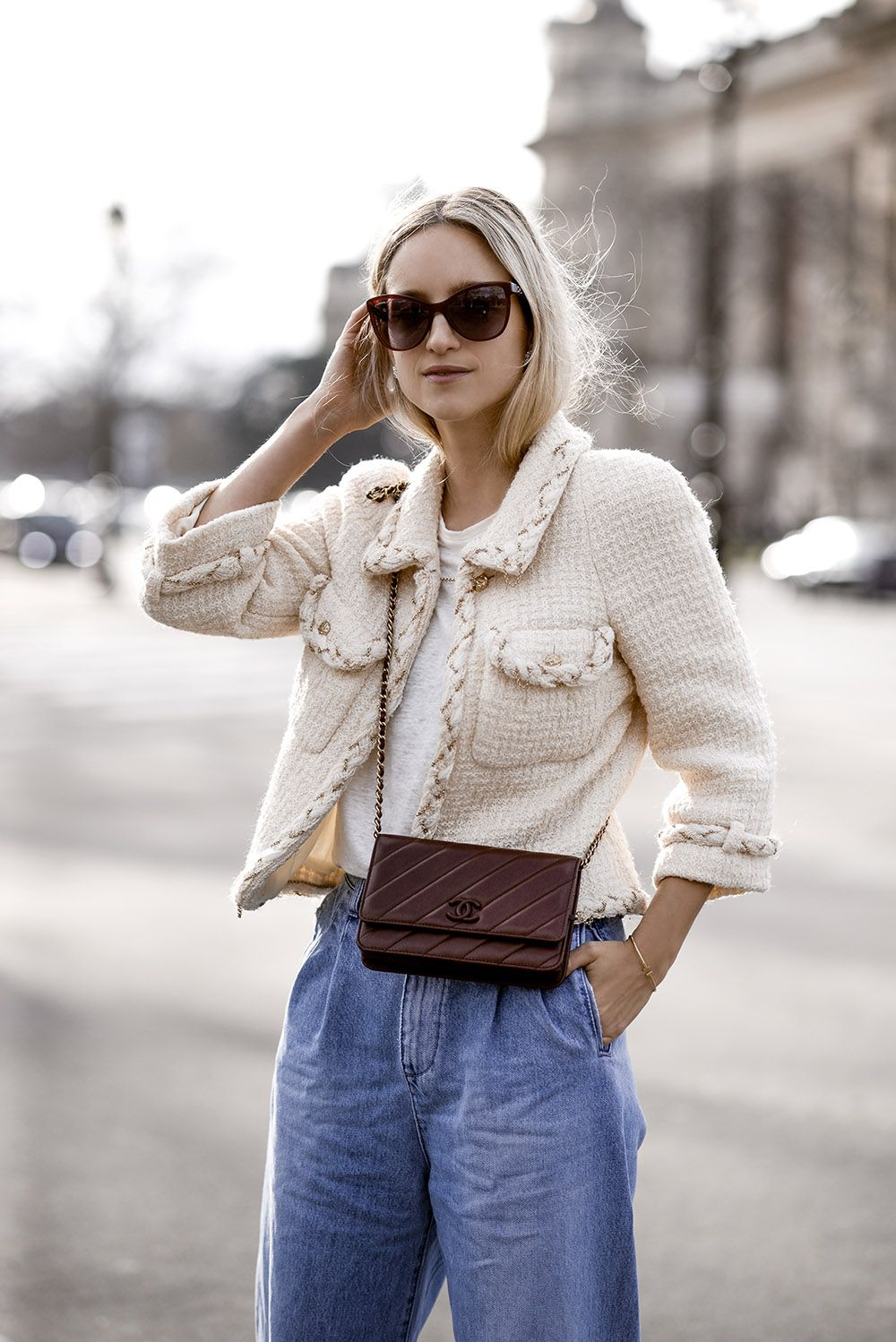 Chanel Wallet On A Chain Chanel Street Style Fashion