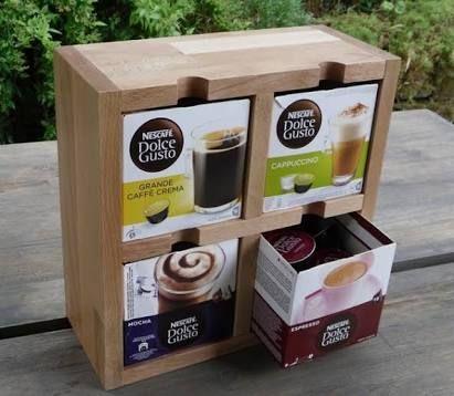 resultado de imagem para porta capsulas dolce gusto mdf dolce gusto pinterest dolce gusto. Black Bedroom Furniture Sets. Home Design Ideas