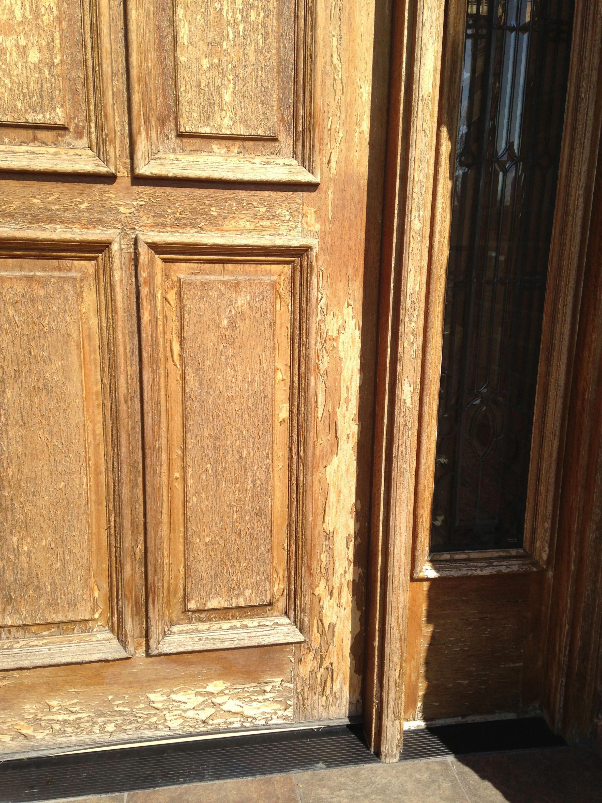 Blog The Cost Of Refinishing A Wood Front Door Or Garage
