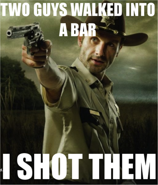 34 Hilarious 'Walking Dead' Memes from Season 2 from Funny or Die