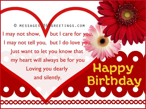 Happy Birthday Message To Your Girlfriend
