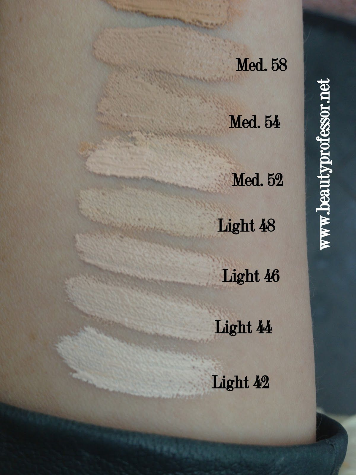 Kat Von D Lock It Tattoo Foundation Swatches Of All Shades Foundation Swatches Lock It Tattoo Foundation Kat Von D Foundation