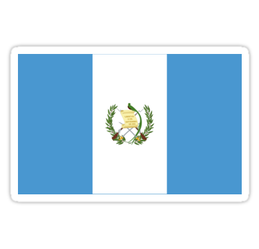 Pegatina Regalos Pegatinas Y Otros Productos De La Bandera De Guatemala De Mpodger En 2021 Bandera De Guatemala Bandera Banderas