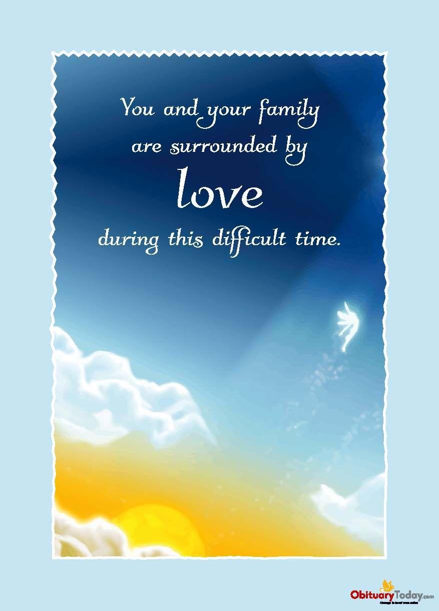 Get Inspirational Sympathy & Condolences Cards Free Online