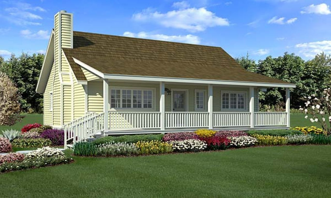 10 Coolest Farmhouse Plans For Your Inspiration Country Style House Plans Contemporary House Plans Porch House Plans
