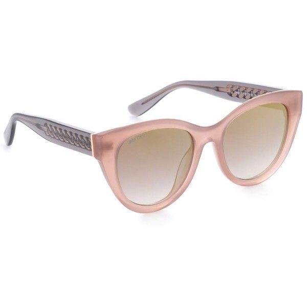 8807c75ae0f Jimmy Choo Chana Cat-Eye Sunglasses (435 AUD) ❤ liked on Polyvore featuring