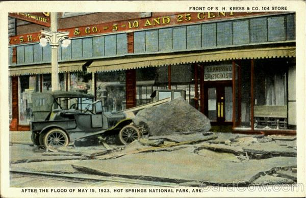 Car Dealerships In Hot Springs Ar >> Front Of S H Kress Co History I History