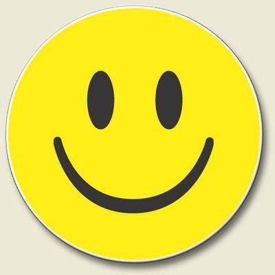 Smiley Happy Face Car Coaster   Car coasters, Smiley, Coasters