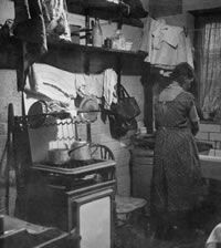 Early1900s Kitchen The Bourneville Trust Taken From Nails Noggins And Newels An Alternative History Of Every House Bill Laws 2006