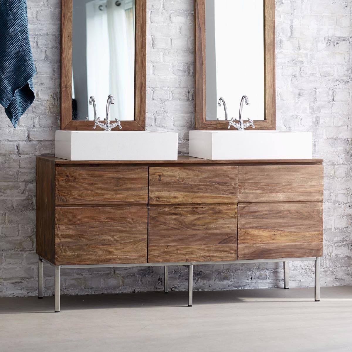 9 Bad Unterschrank Holz Bad Unterschrank Mit Waschbecken Mitrank