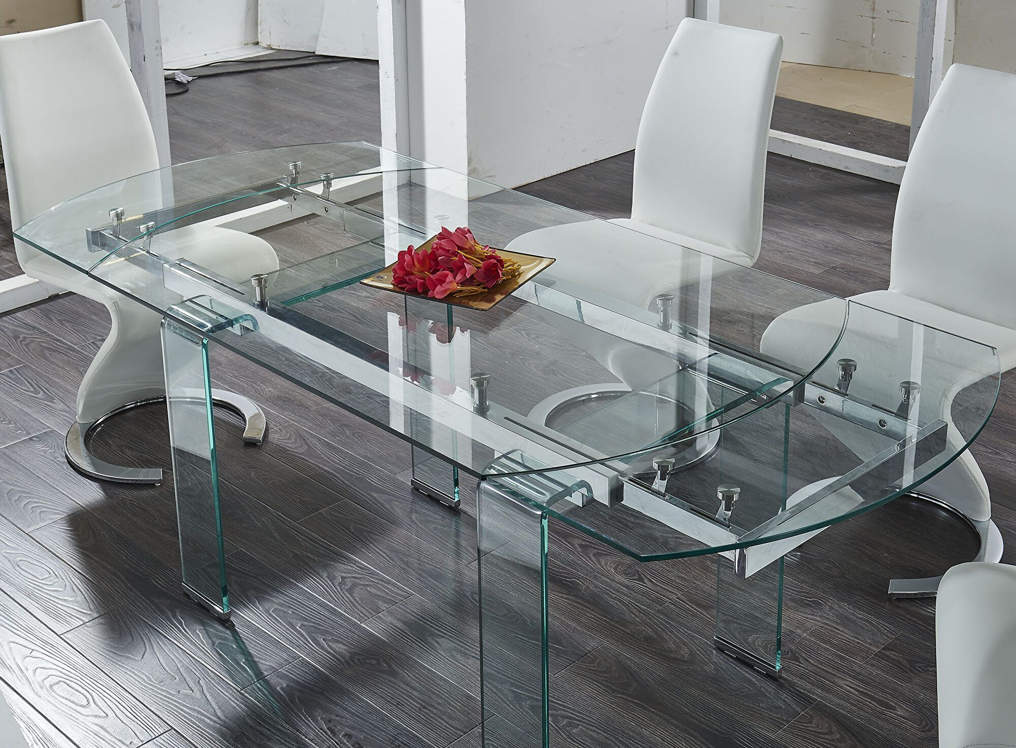 G2160 Table D2160 Wilcox Global Furniture Usa Single Dining Tables In 2020 Glass Dinning Table Glass Dining Room Table Contemporary Dining Room Tables