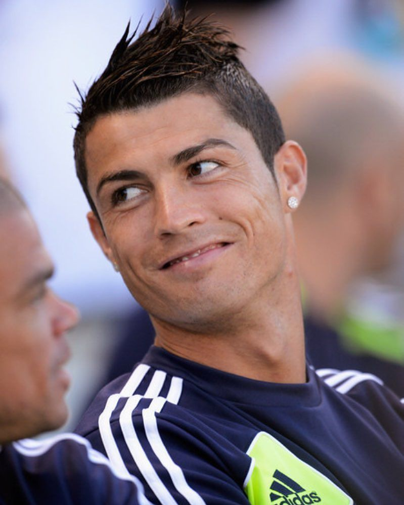 Nice refined cristiano ronaldo haircut designs a class above