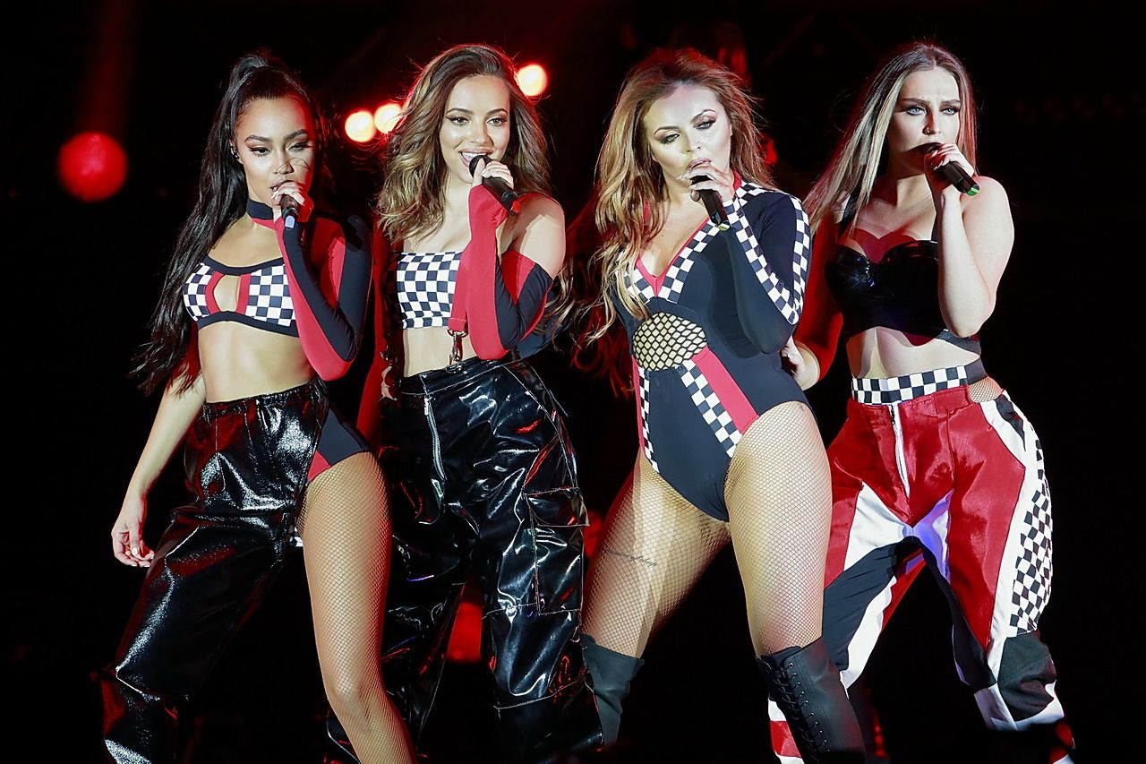 little mix performing at the glory days tour in berlin