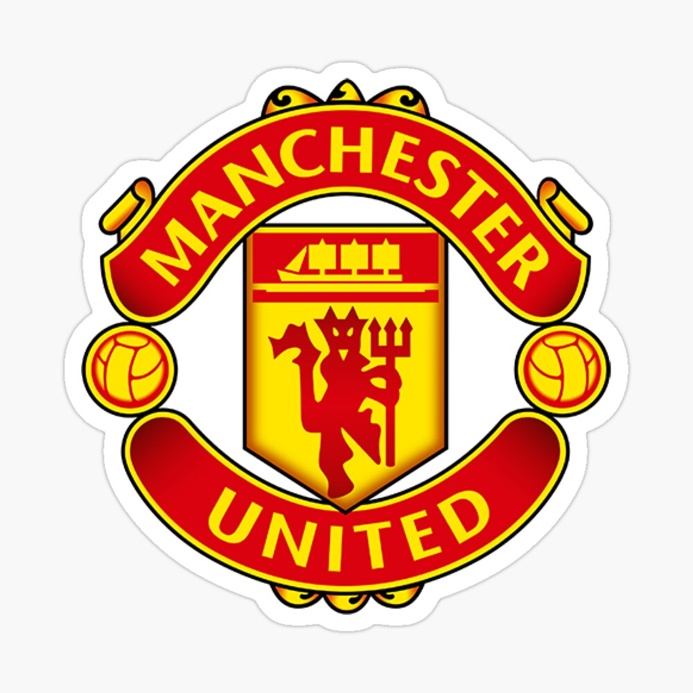 Premier League Football Stickers T Shirts And Other Gear Manchester United Logo Manchester United Football Manchester United Soccer