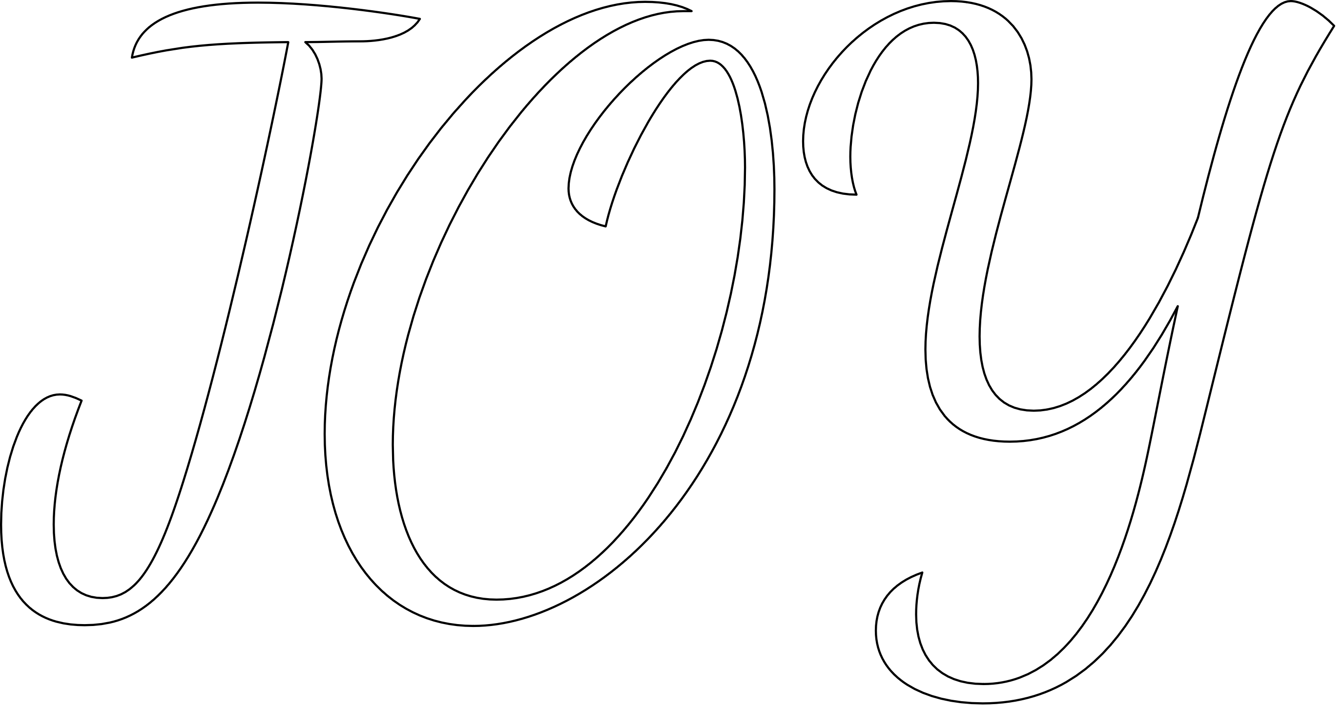 """""""JOY"""" stencil. Print, customize, or make your own free at"""