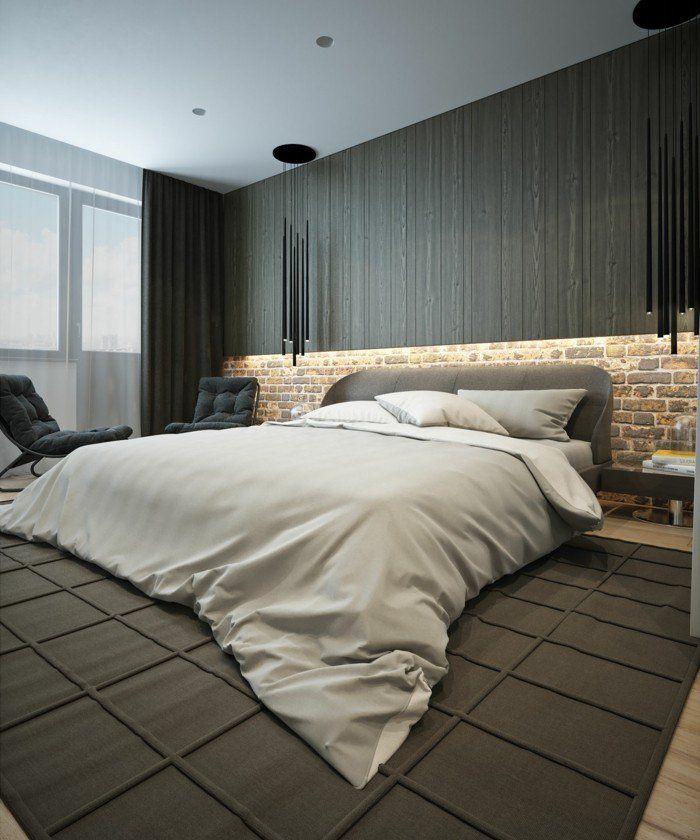 Modern Wohnen Trendiges Schlafzimmer Gestalten Mit Coolem Teppich