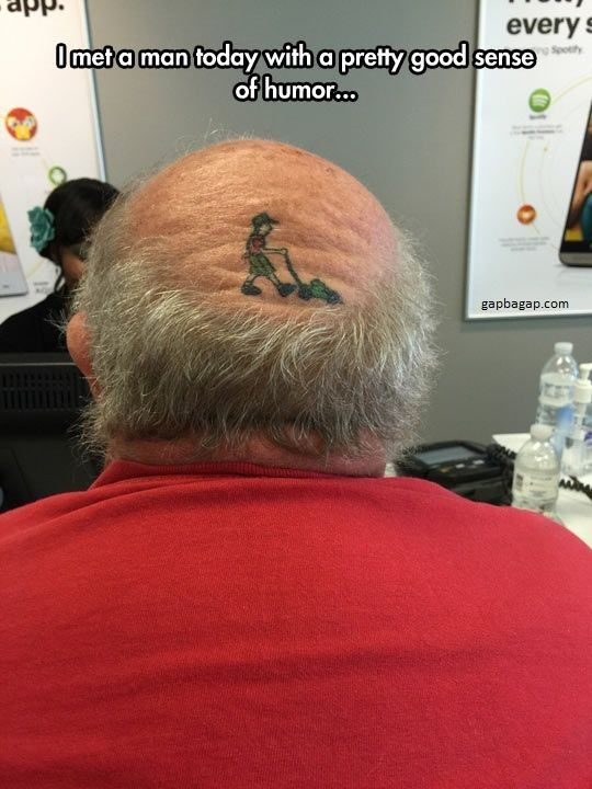 Funny Memes About A Bald Man Funny Pictures Funny Images Humor