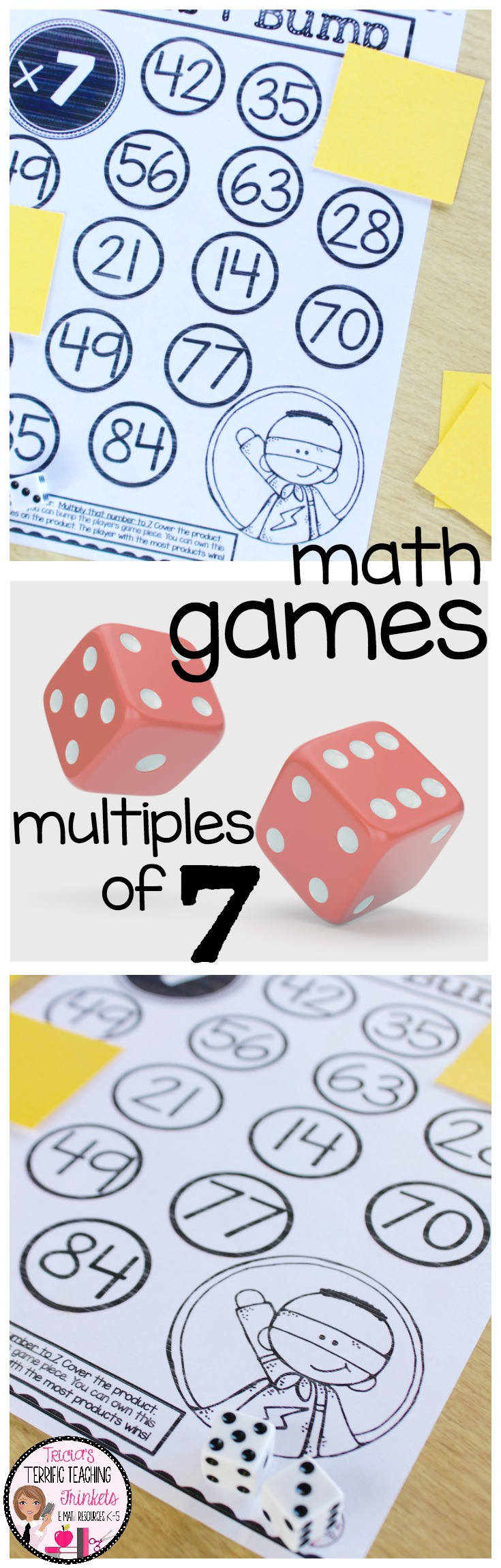 Multiplication Practice Times 7 | Multiplication activities ...