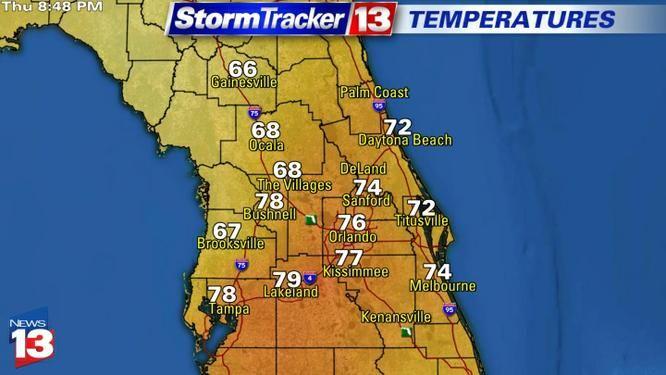 orlando radar weather map Orlando Weather On The Ones Live Radar Forecast Orlando orlando radar weather map